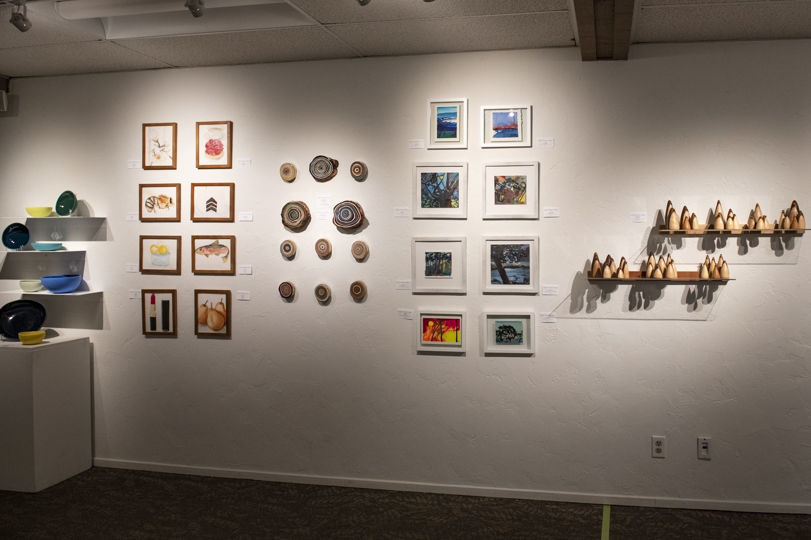 Small Wonders show and sale at the Aspen Chapel Gallery on Tuesday, Nov. 17, 2020. (Kelsey Brunner/The Aspen Times)