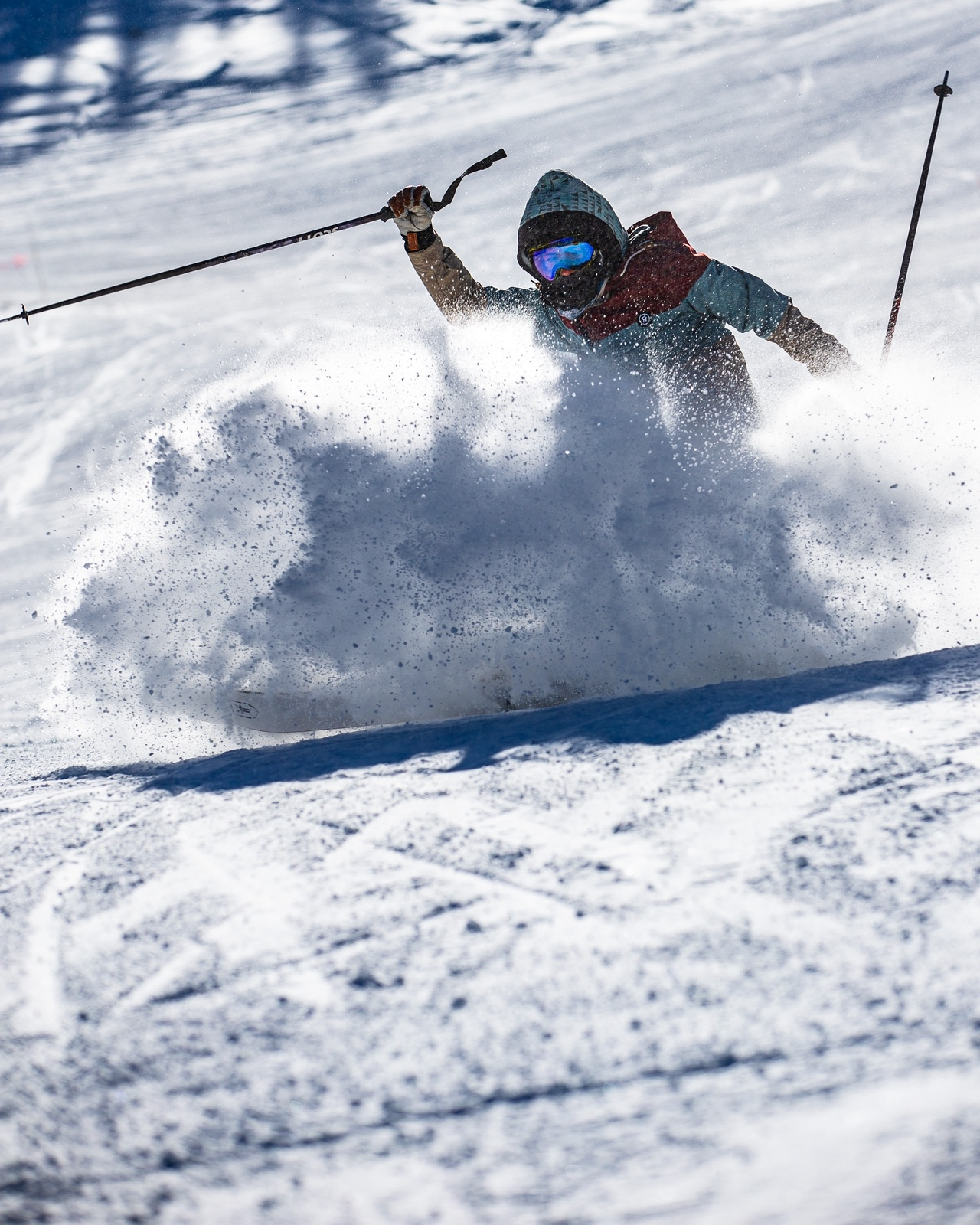 A skier enjoys opening day on Monday, Nov. 30, at Copper Mountain Resort. | Photo by Liz Copan / Studio Copan