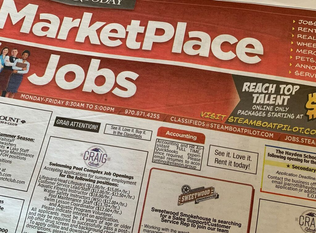 Garfield County's unemployed rate decreases by 0.1% from February to March