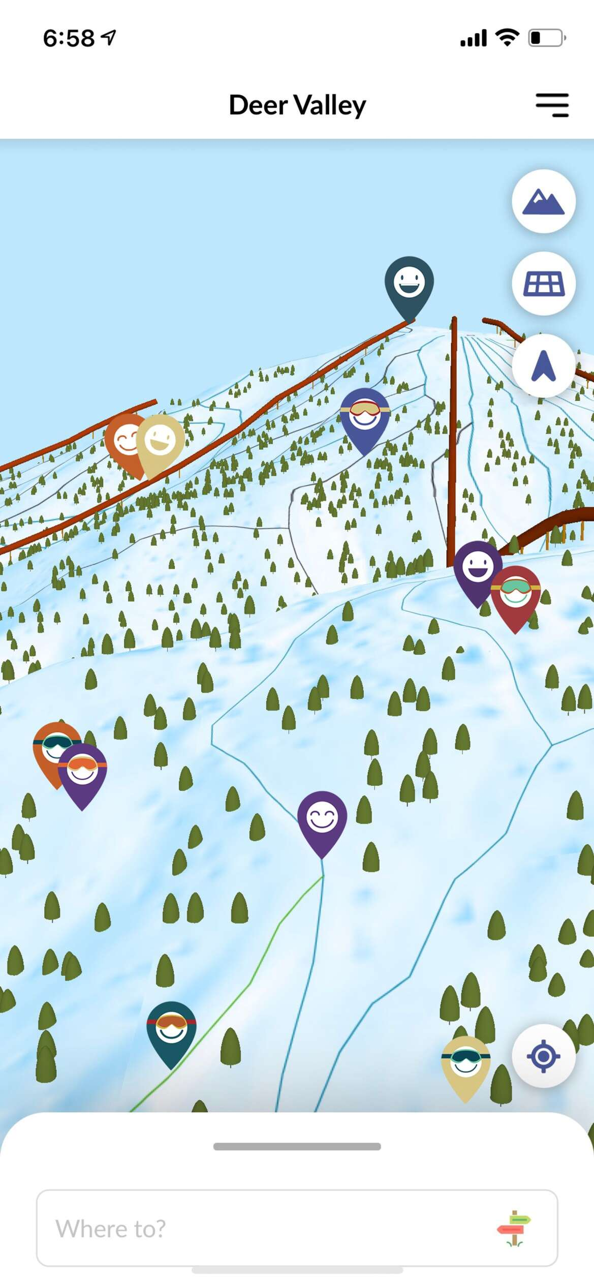 Snow Mappy app aims to help skiers navigate Deer Valley safely