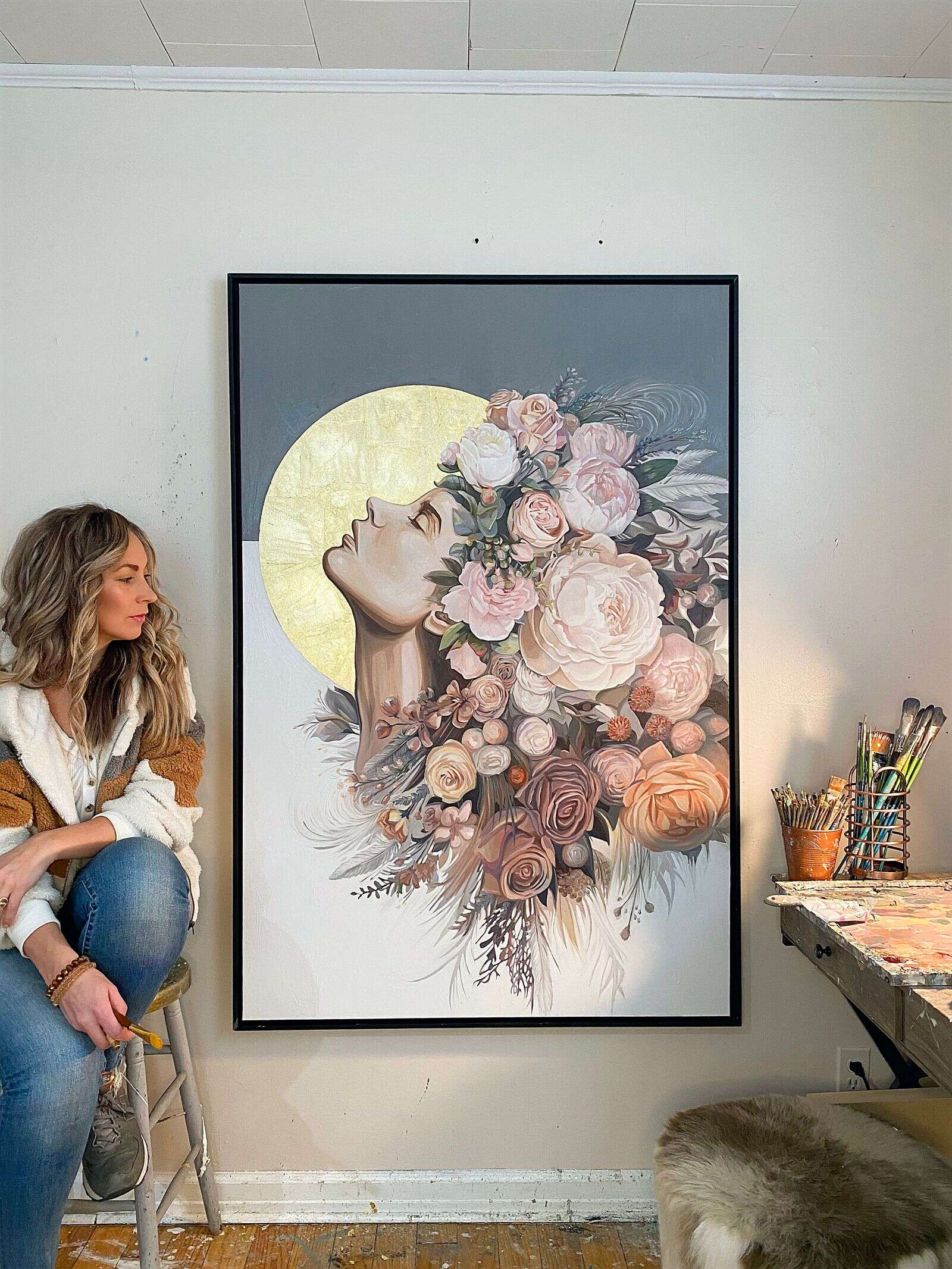 Artist's Park City exhibit aims to show people's 'potential to blossom and bloom'