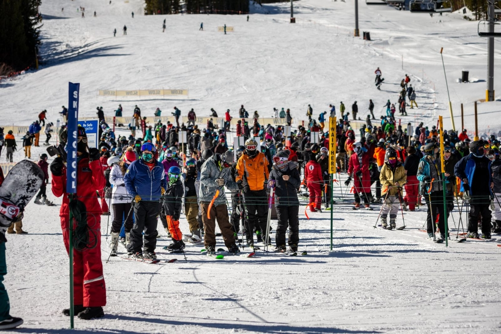 Ski area capacities to be reduced starting Wednesday