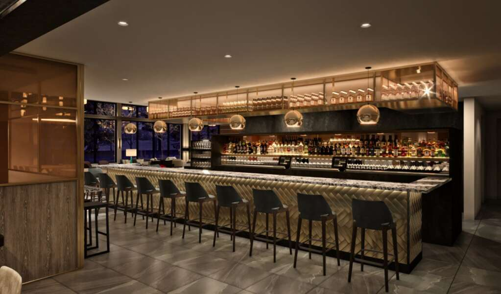 A rendering of renovations to the lounge bar at The Limelight Aspen   Limelight Hotels/Courtesy image