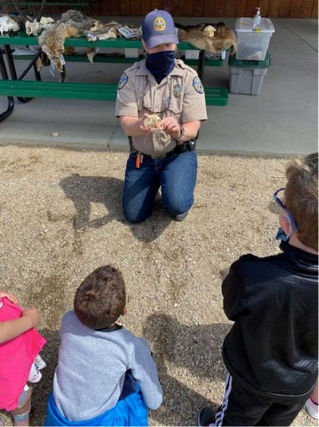 The field trip was a great hands on experience for Granby Elementary kindergartners.