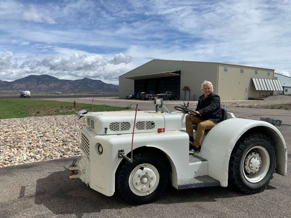Jeff Posey co-founded Rifle Aviation with Robert Holton to accommodate the spillover aircraft from the airports in Aspen and Vail. | Courtesy Photo