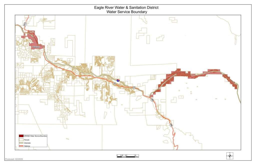 The Eagle River Water and Sanitation District currently provides water to the town of Vail and certain properties in Wolcott. | Eagle River Water and Sanitation District/Courtesy Photo