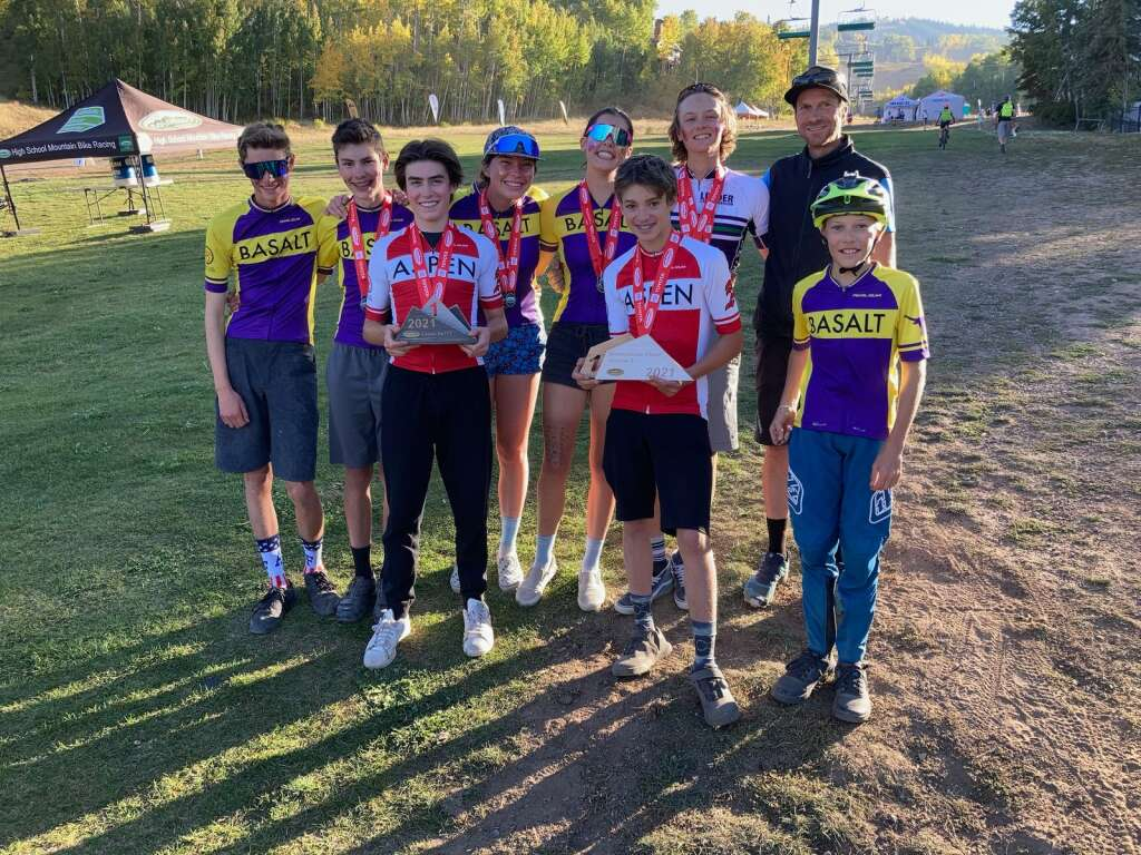 Led by coach Scott Leonard, the Aspen/Basalt composite mountain bike team will compete Oct. 24-24 in the state championships in Durango.