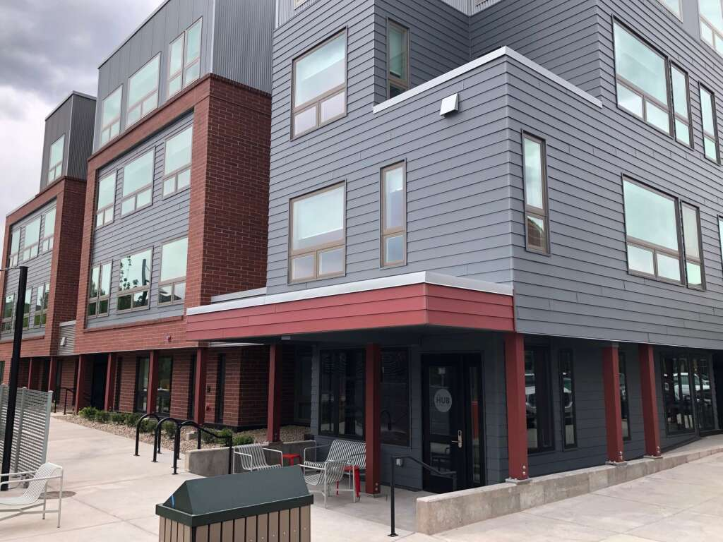 Aspen Skiing Co.'s new affordable housing complex in Willits was completed despite the challenges of the pandemic. | Scott Condon/The Aspen Times