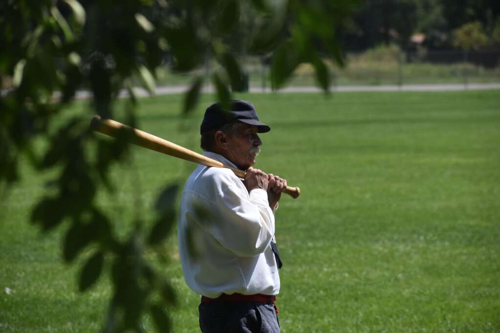 A batter waits his turn. |Ray K. Erku / Post Independent