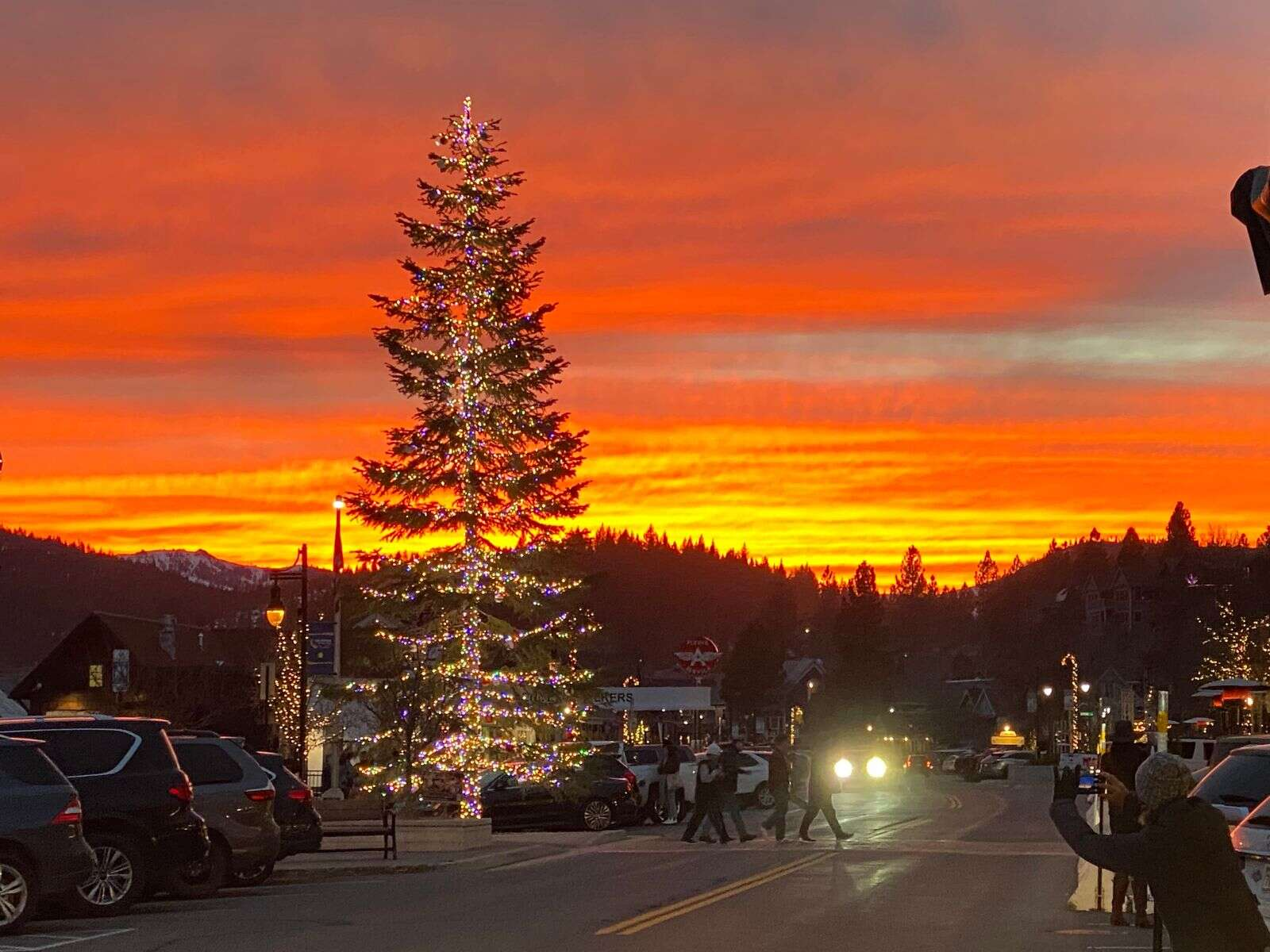 Downtown Truckee at sunset! | Submitted by Sally Abarta