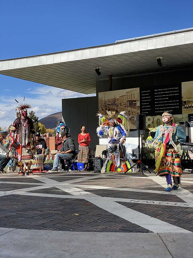 Leading up to Indigenous Peoples Day in October, the Aspen Indigenous Foundation presented a performance for the public on the Aspen Sister Cities Plaza. | Aspen Times file photo