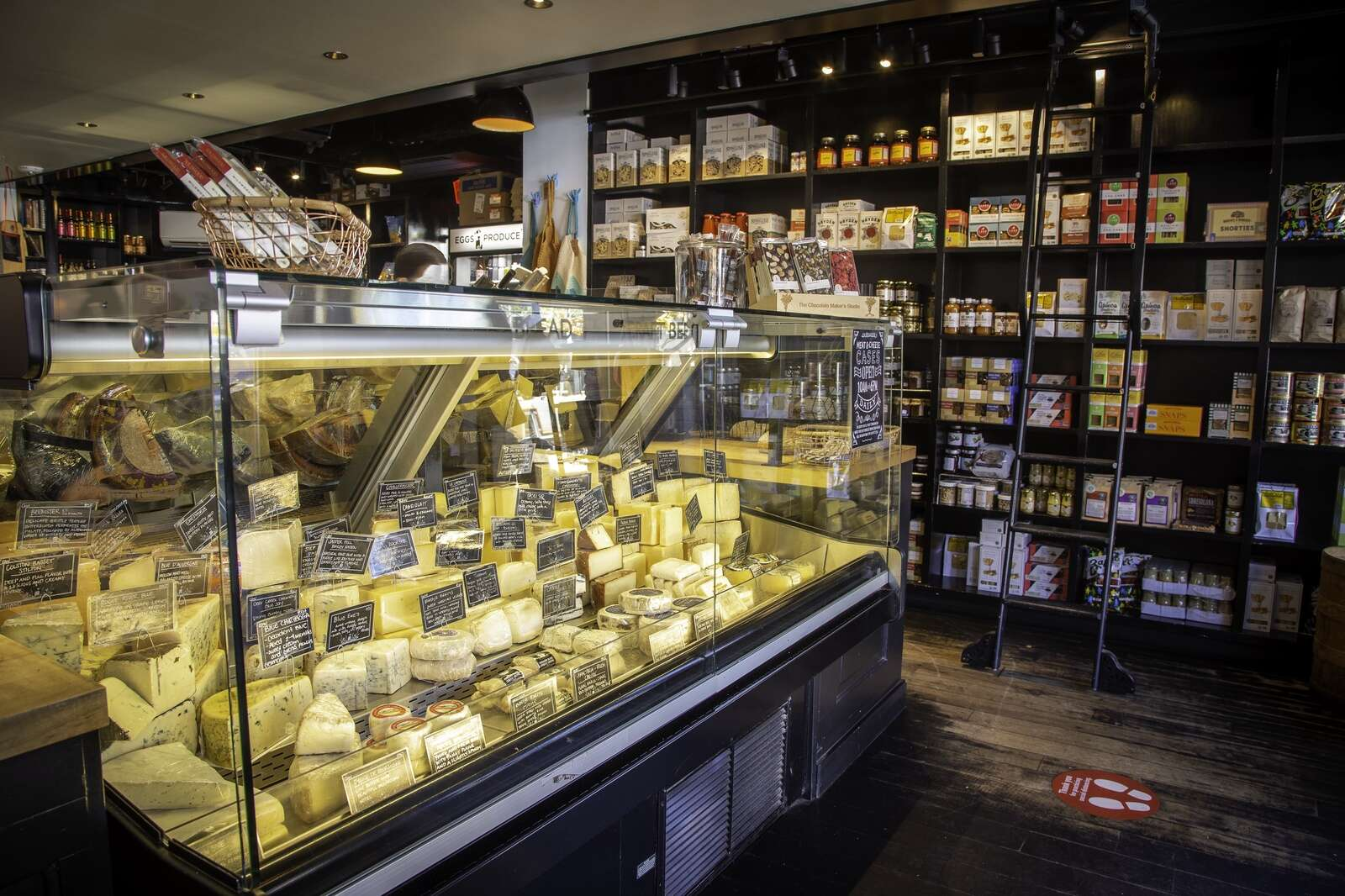 Meat & Cheese Farm Shop offers Aspen's most curated selection of cheeses from America and the world, plus butchered meats from western Colorado and other gourmet groceries.