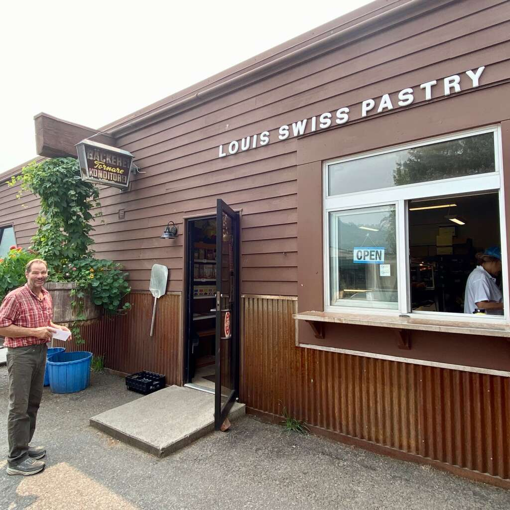 A local institution of 39 years, Louis Swiss Pastry in the AABC has become a destination for patrons seeking to avoid the downtown Aspen hustle and bustle, says former owner Felix Tornare.