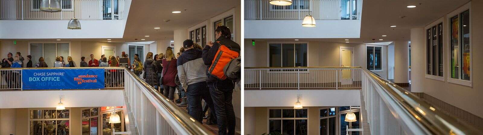 Sundance scene in Park City: Empty rooms, sunken sales replace Hollywood stars, crowded theaters