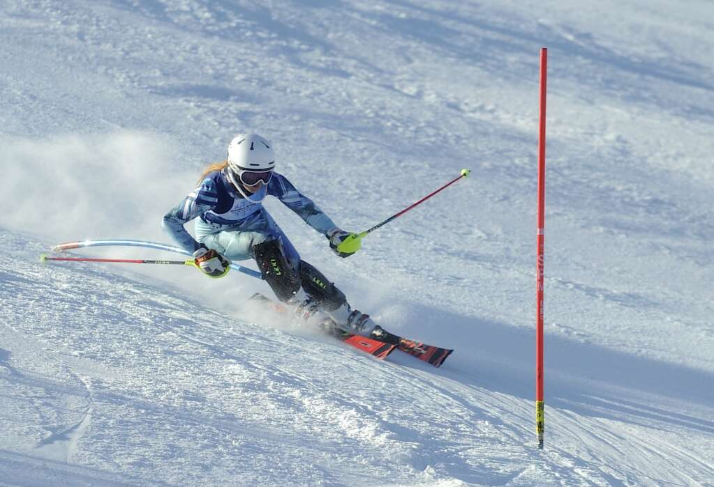 Steamboat Springs Winter Sports Club skier Tatum Grosdidier had three top-10  finishes during the Colorado Ski Cup at Steamboat Resort on Wednesday, March 30. (Photo by Shelby Reardon)