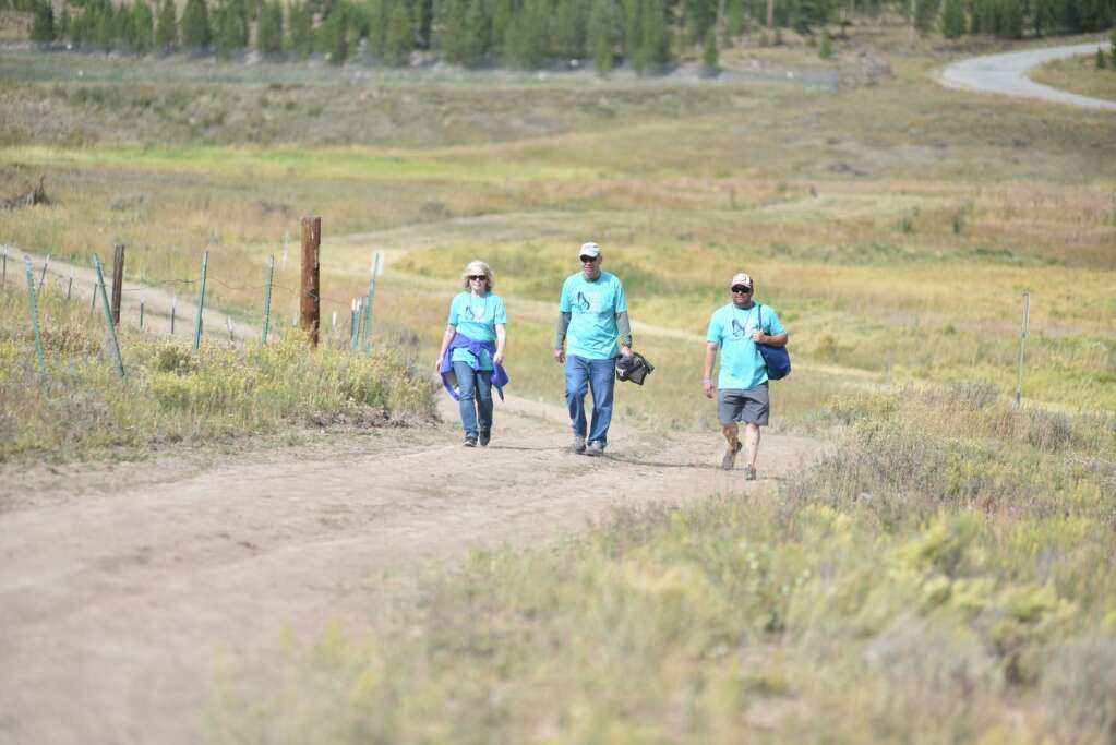 Grand County's first You Are Not Alone suicide prevention and awareness event took place on Sunday, Sept. 12, 2021 at Snow Mountain Ranch.. | McKenna Harford / mharford@skyhinews.com