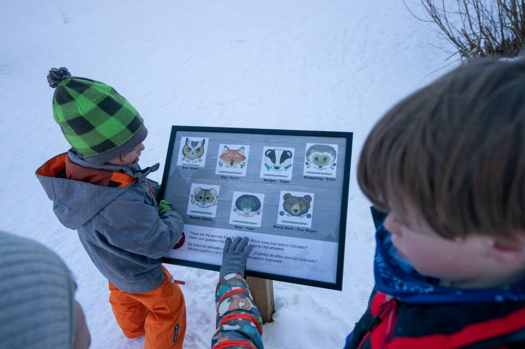Above all, the town of Vail and the library hope that children and parents enjoy the experience of connecting mentally and physically with the titles chosen for the StoryWalk®.   Dominique Taylor   Special to the Daily