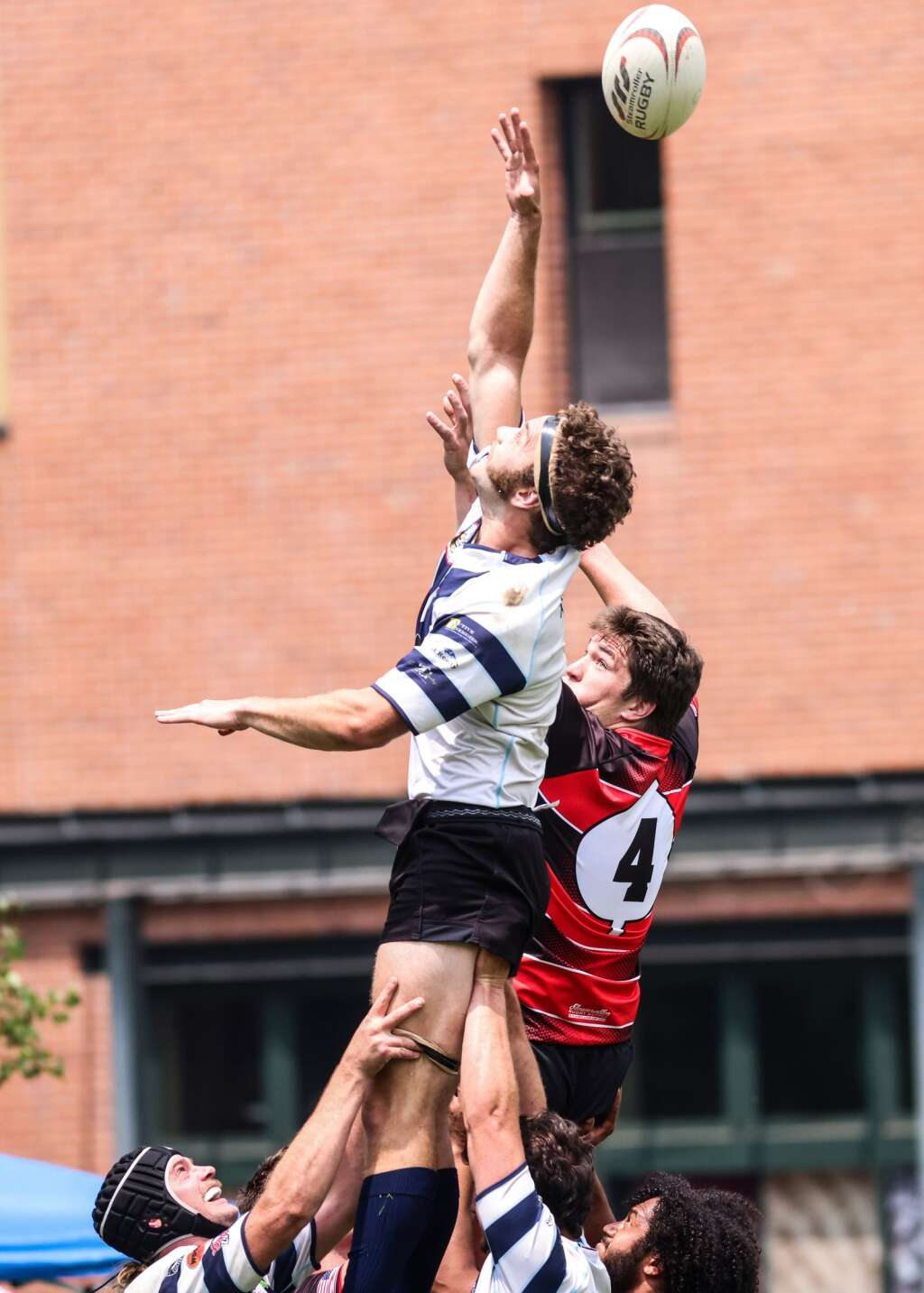 The Gentlemen of Aspen Rugby Club plays Vail on Saturday, July 24, 2021, at Wagner Park in downtown Aspen. Photo by Austin Colbert/The Aspen Times.