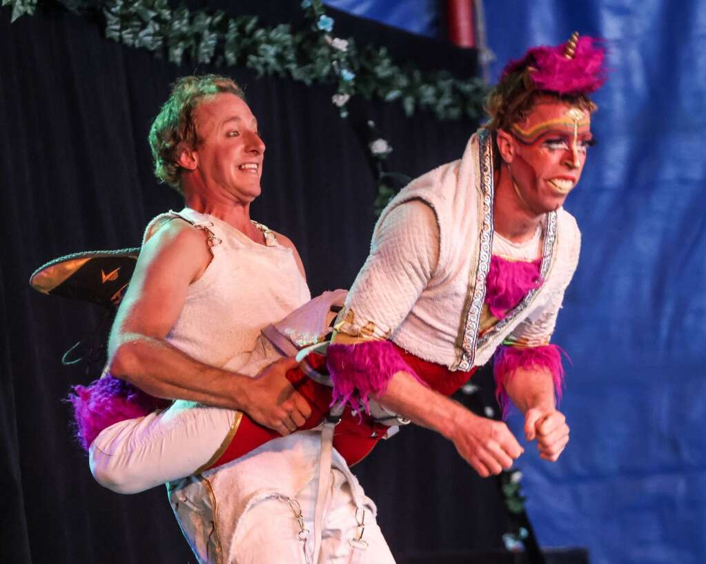 The Flynn Creek Circus on Friday, Aug. 20, 2021, came to Snowmass Village for the first of three days of performances. The all-ages show is called