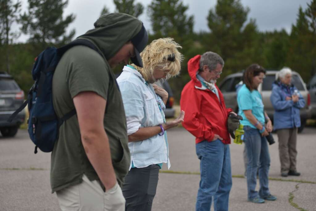 Grand County's first You Are Not Alone suicide prevention and awareness event took place on Sunday, Sept. 12, 2021 at Snow Mountain Ranch. | McKenna Harford / mharford@skyhinews.com