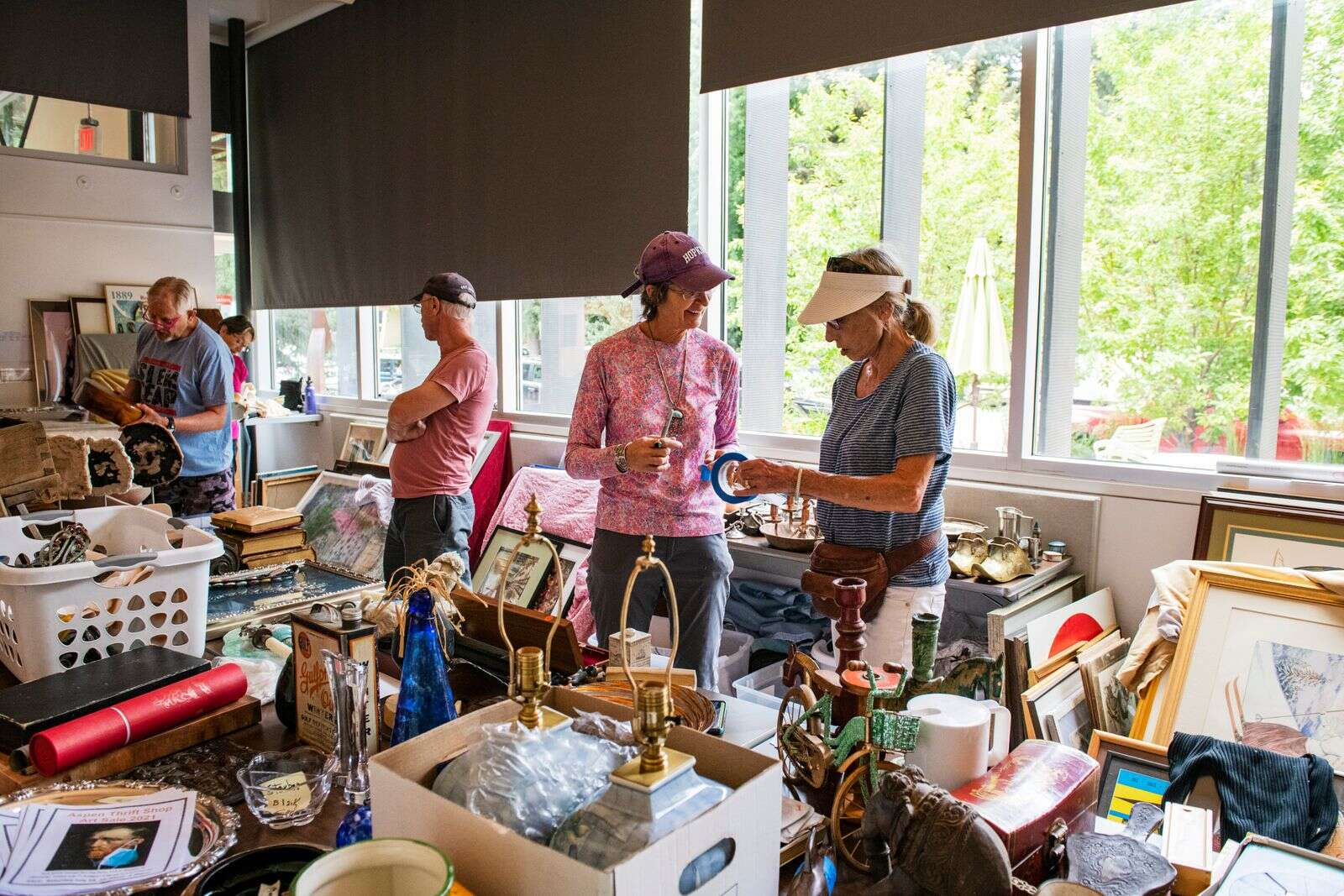Aspen Thrift Shop's Annual Art Sale Returns With 'Unusual, Interesting, Original' Collection