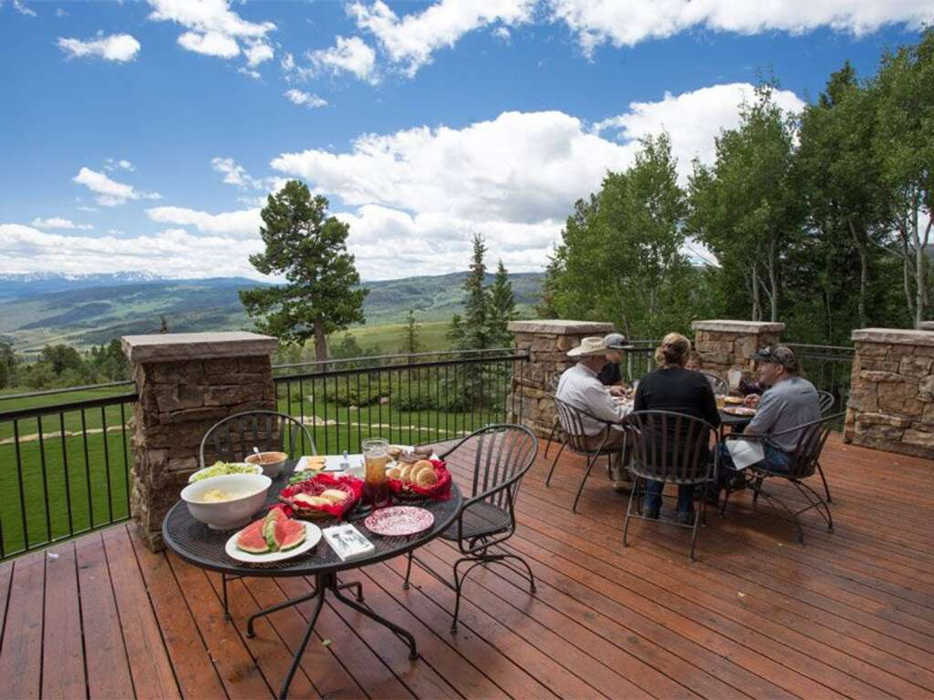 The High Plains Ranch sits on 6,900 with a 16,000 square foot main lodge. | Courtesy High Plains Ranch