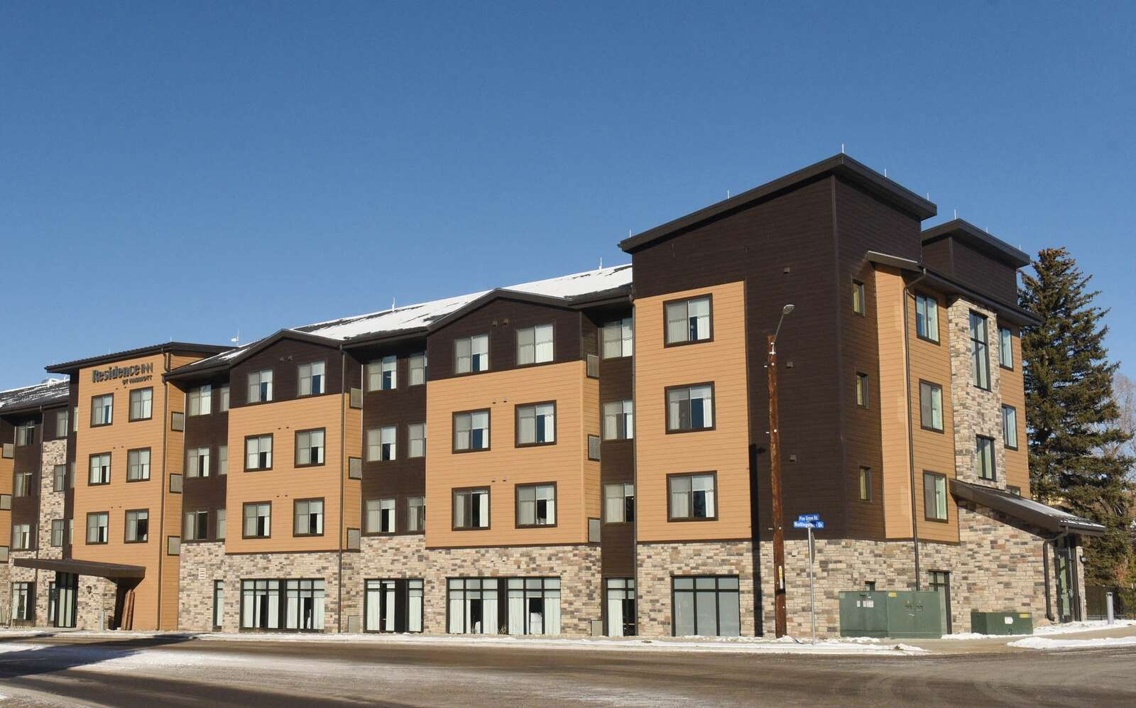 The new Residence Inn by Marriott opened its doors in Steamboat Springs this week. General Manager Grant D'Entremont said he expects to be fully occupied for the Holidays and reservations are looking good as he peeks ahead to January and February. (Photo by John F. Russell)