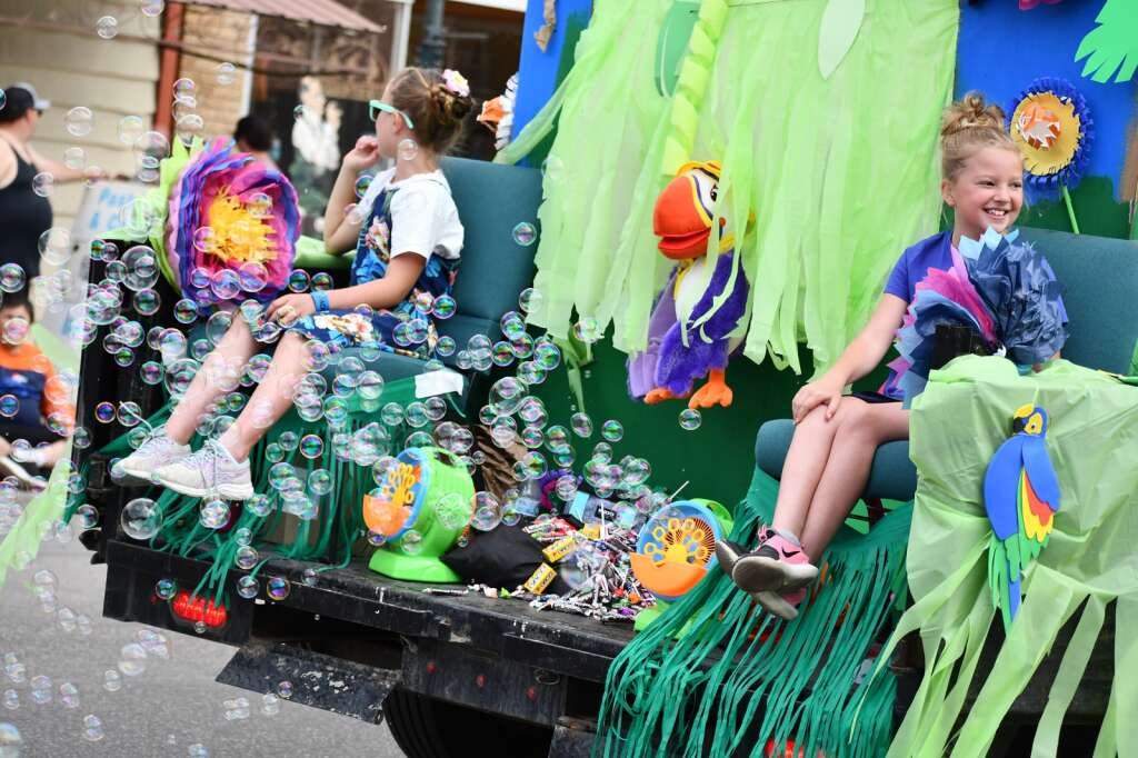 Scenes from the Memorial Day parade and carnival in Craig Monday