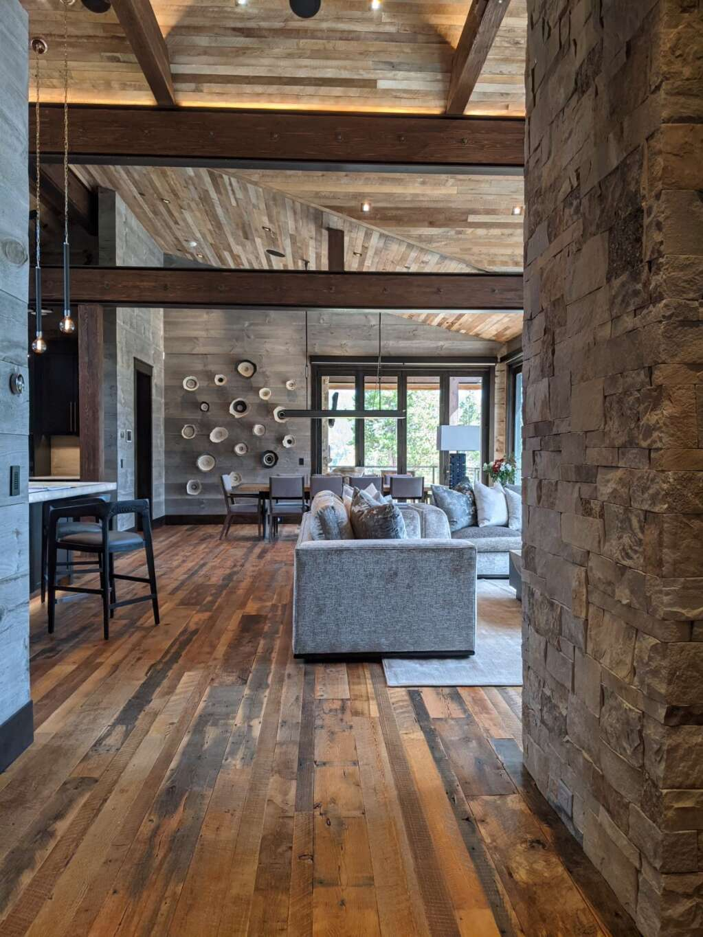 The 2021 Parade of Homes' Mountain Living Peak Award winner was built by The Pinnacle Companies in Breckenridge. The Parade of Homes takes place over two weekends thiis year.   Summit County Builders Association/Courtesy photo