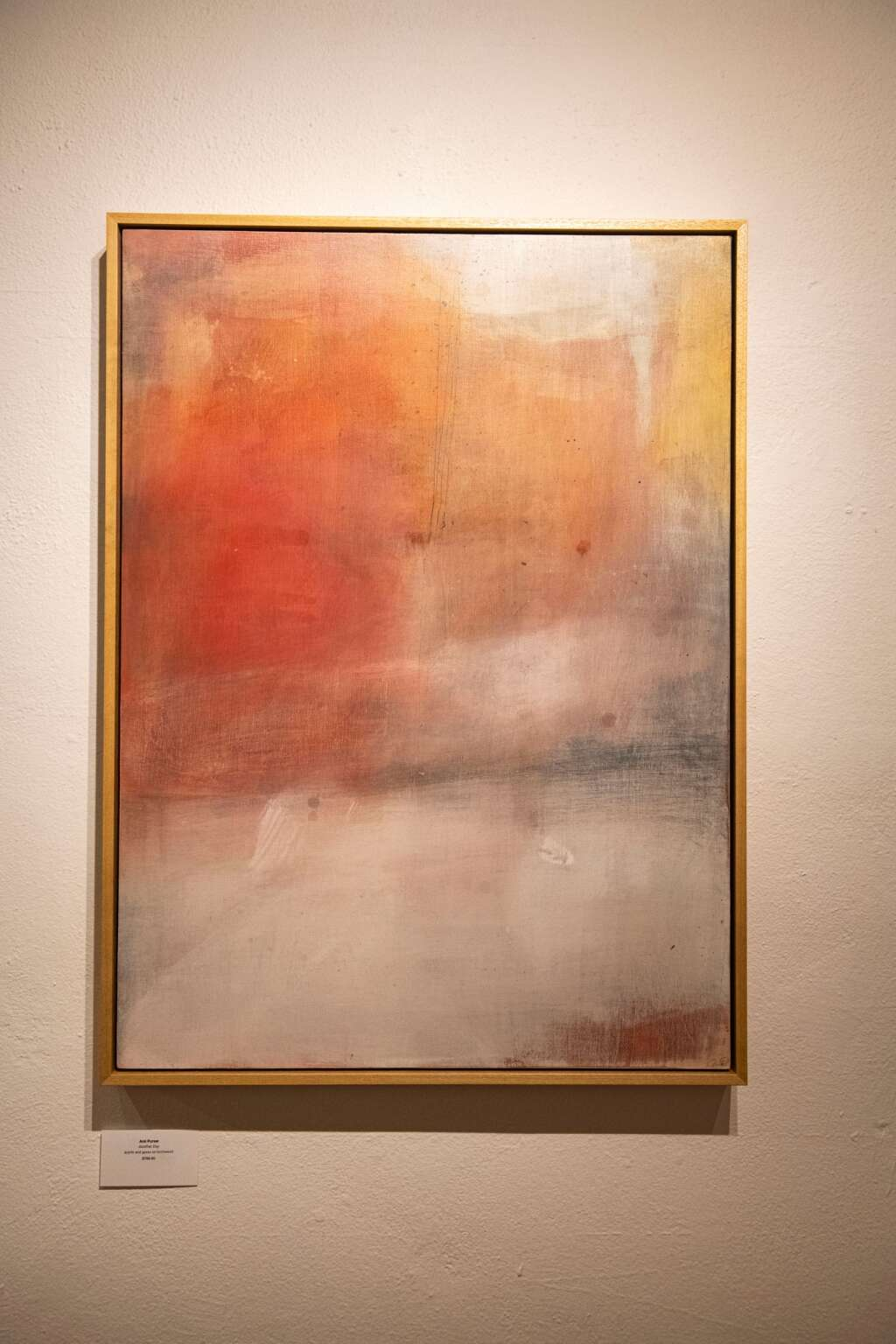 'Another Day' by Ami Purser is displayed in the Line and Form exhibition in the Red Brick Center for the Arts in Aspen on Wednesday, June 2, 2021. (Kelsey Brunner/The Aspen Times)