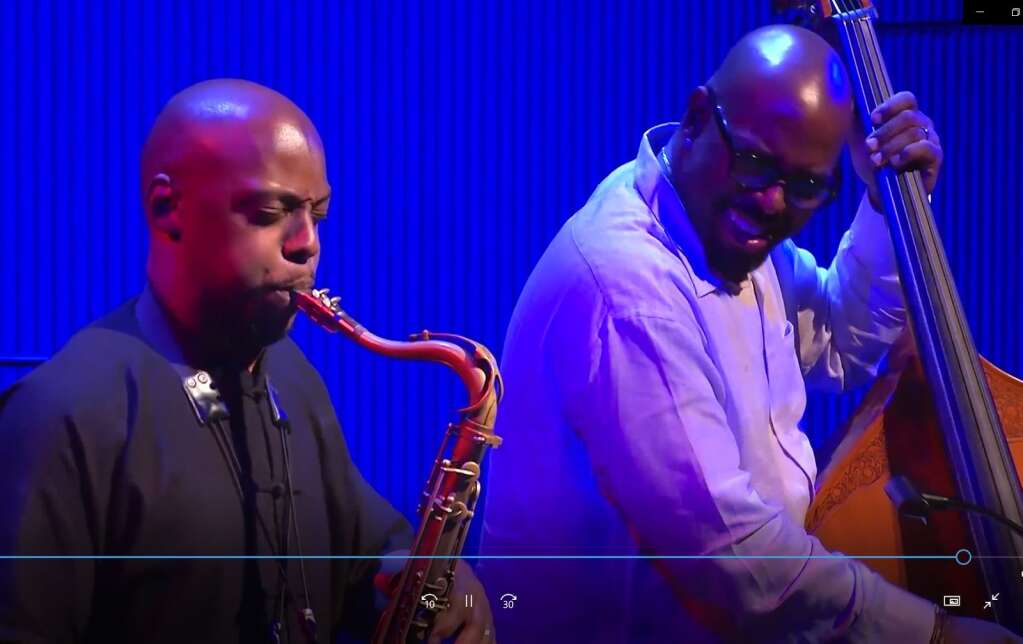 Bassist and JAS Academy director Christian McBride is among the performers at Jazz Aspen's virtual house party. Courtesy photo