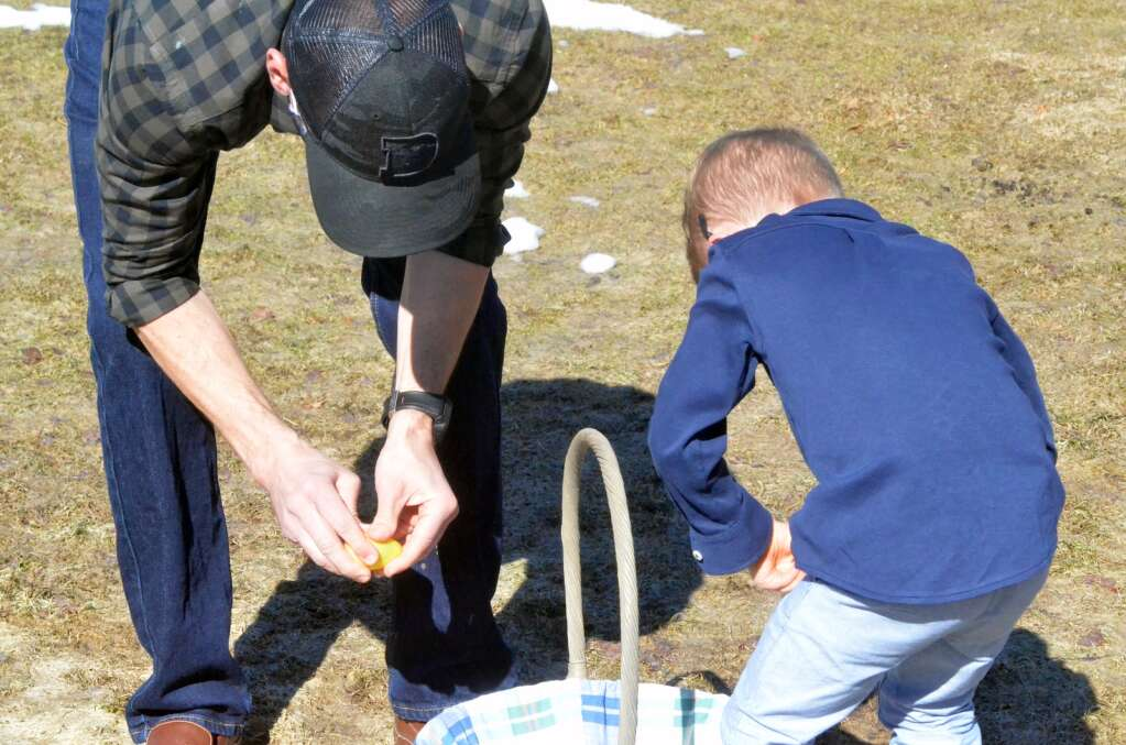 At the 2021 Easter Egg Hunt in Steamboat Springs on Saturday, April 3, hosted by Steamboat Christian Center. (Photo by Bryce Martin)