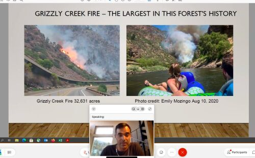 'Ready for the next one:'CMC hosts virtual lecture to help individuals locally and across the country better prepare for wildfire season