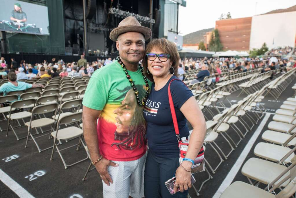 Fans turn out to see Earth, Wind, & Fire perform at Harvey's Lake Tahoe on Saturday, July 10.