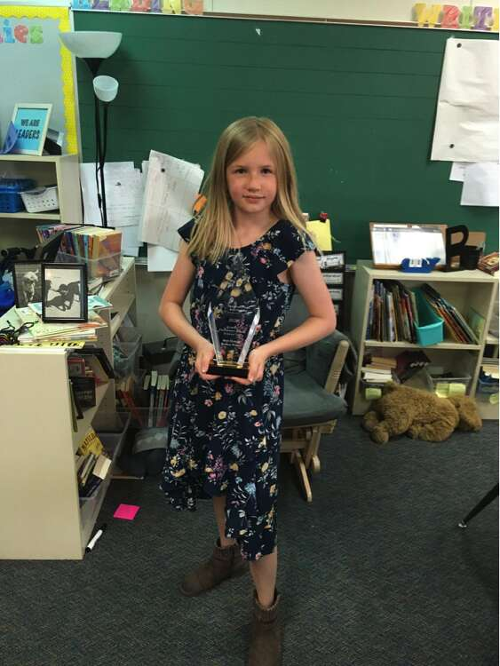 Winners of the Expo-sciences at Granby Elementary School