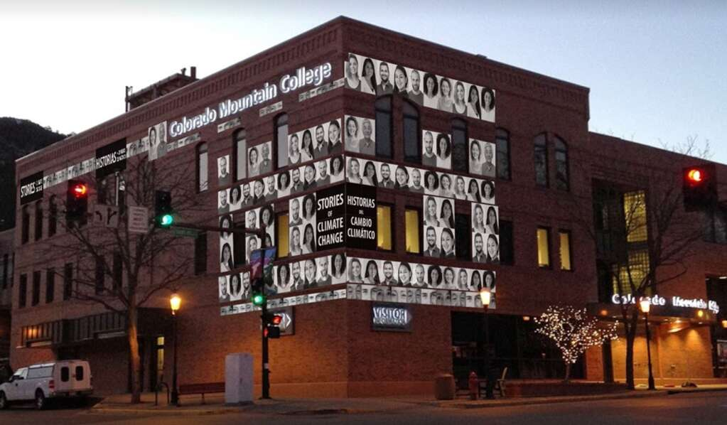 Artist's renering of the proposed mural at the CMC building in Glenwood Springs. (Courtesy photo)