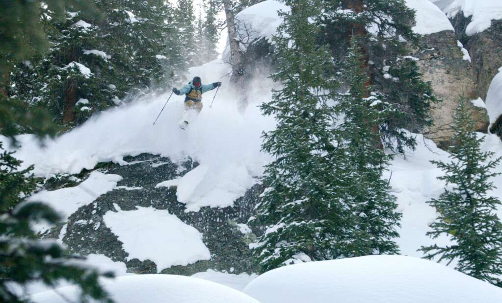 "Tim McChesney in the Aspen segment from the new Teton Gravoty Research film ""Make Believe."" (Courtesy photo)"