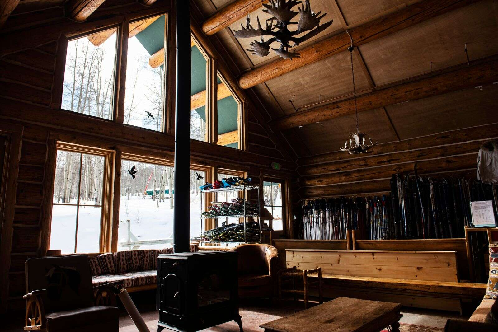 A quiet King Cabin before the opening of Ashcroft Ski Touring for its 49th season. (Kelsey Brunner/The Aspen Times)