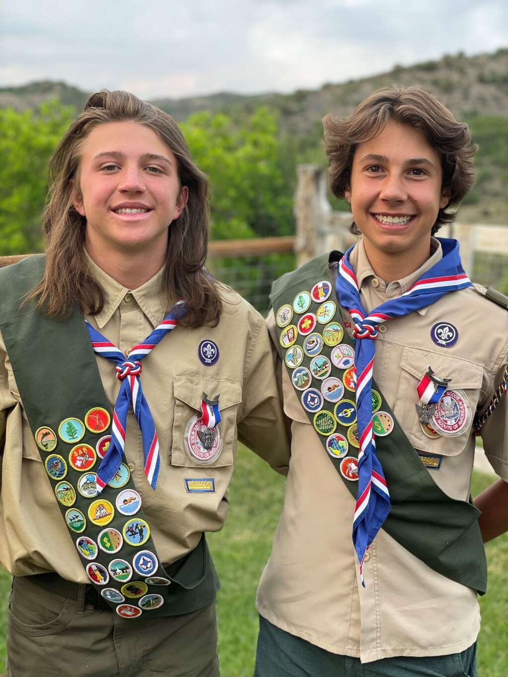 Aspen Boy Scout Troop 201 is proud to announce that Nate Balko and Nate Thomas have earned the rank of Eagle Scout. The two young men started scouting 11 years ago and through their hard work and diligence, they have attained the highest honor in scouting. Since it inception in 1911, only 4% of Boy Scouts have attained this rank. (Courtesy photo)