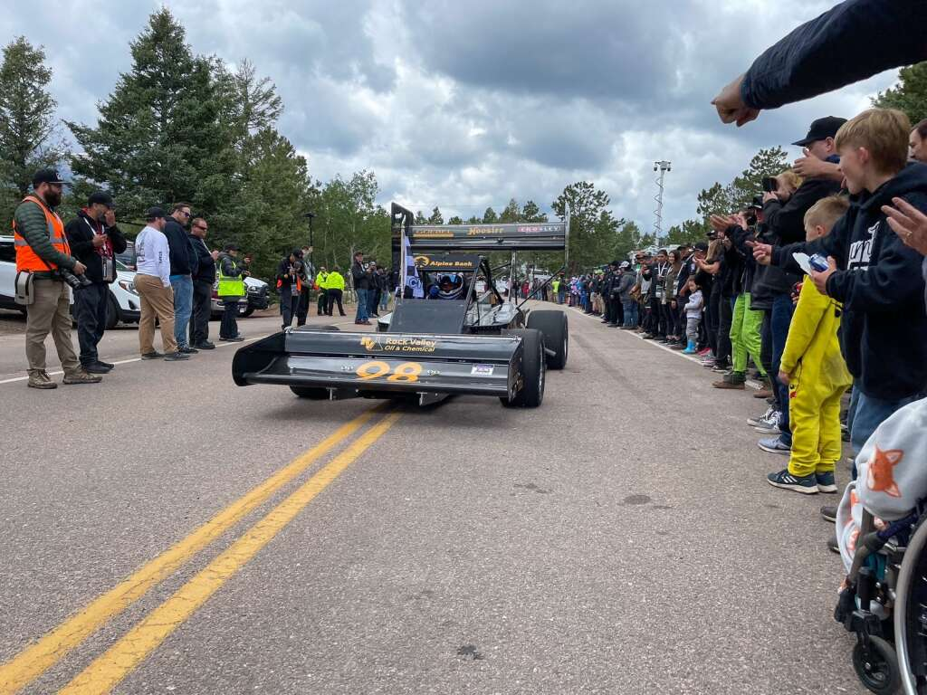 Basalt's Paul Dallenbach competed in the 2021 Pikes Peak International Hill Climb on June 27. Photo courtesy of Jessica Hassing.