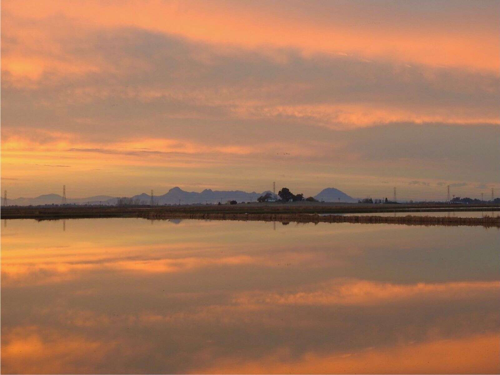 Sutter Buttes.   Submitted by Annita Kasparian