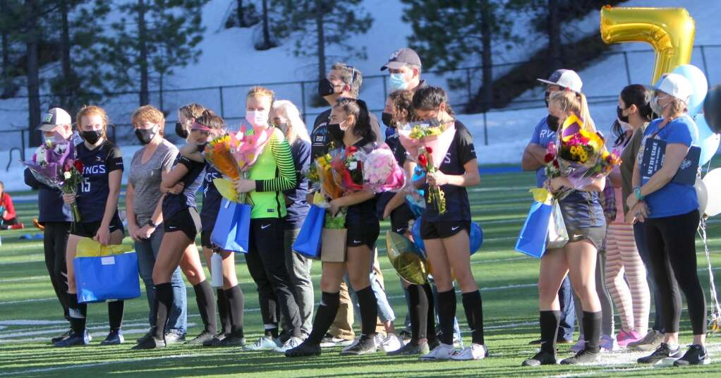 It was senior night for South Tahoe seniors who played their final home game. <em id=