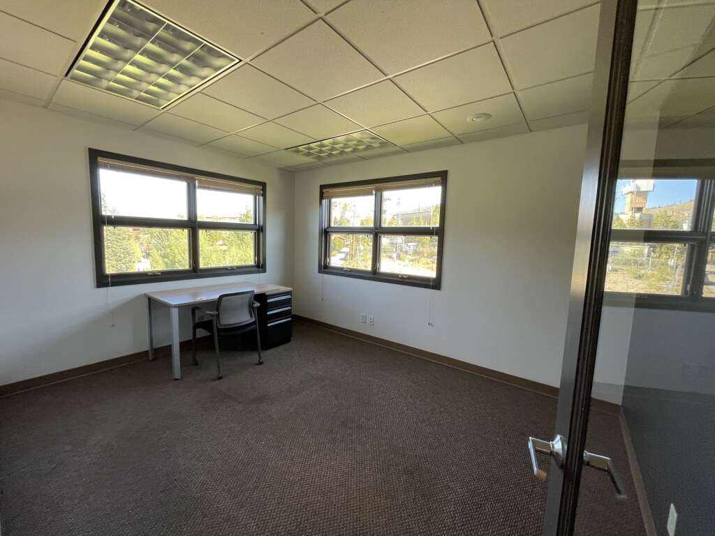 One of the private offices housed in The Mountain Space is shown on Saturday, August 28, 2021. The new coworking space in Dillon just opened late June. | Photo by Jenna deJong