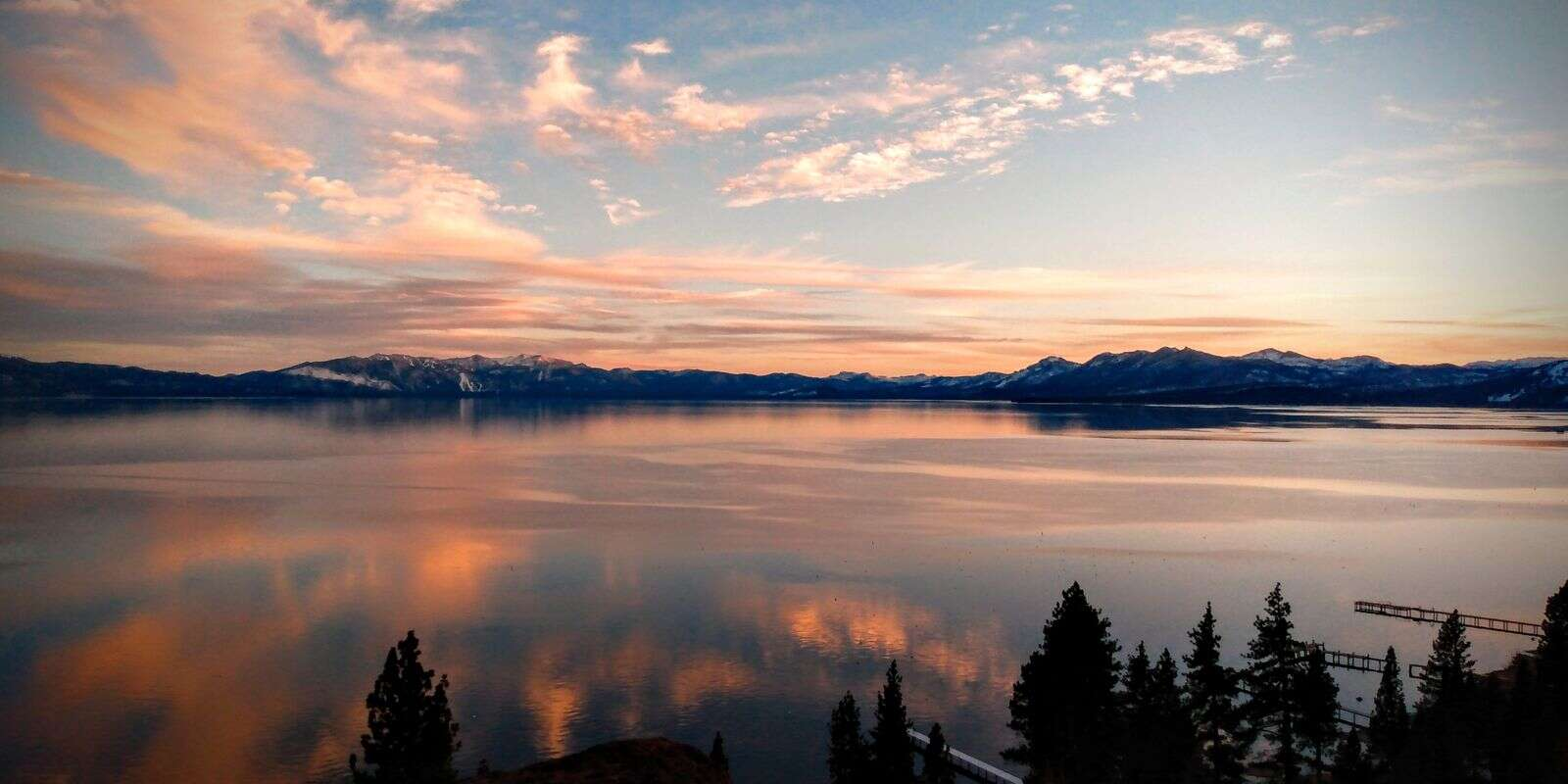Lake Tahoe sunset. | Submitted by Tim Mayhew