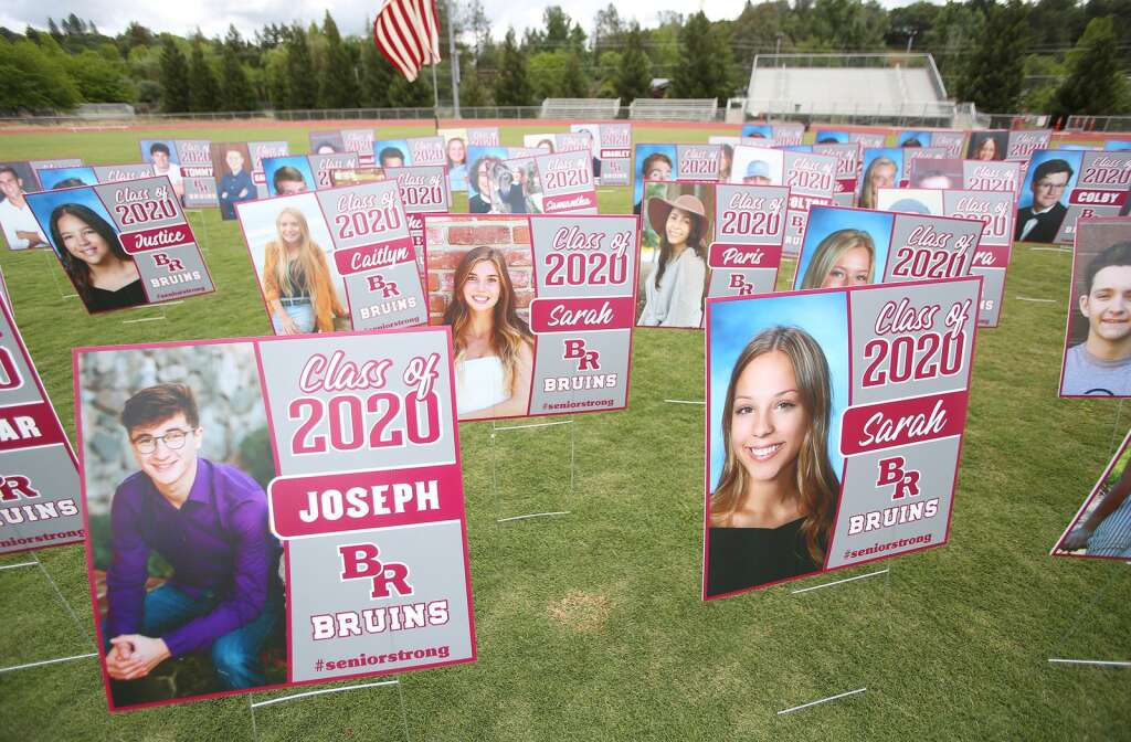 Bear River's graduation of the class of 2020 is one that students and administrators won't soon forget as a drive-thru commencement began May 19 for graduating students and their families. | Photo: Elias Funez