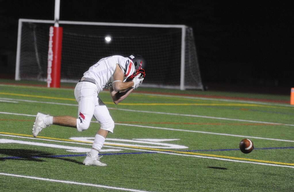 Aspen receiver Shae Korpela shows his frustration after nearly catching what would have been a scoring pass during the homecoming football game at Steamboat Springs on Friday night. | Shelby Reardon/Steamboat Pilot & Today