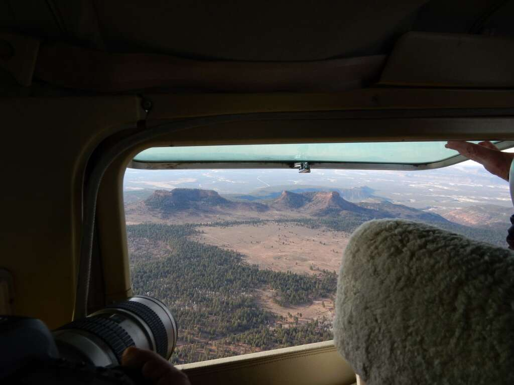 A photographer takes a picture of the namesake geologic feature in the Bears Ears National Monument in December 2017. Aspen-based Ecoflight helped with the process that got the monument designated. Now it will help get it restored. | Scott Condon/The Aspen Times