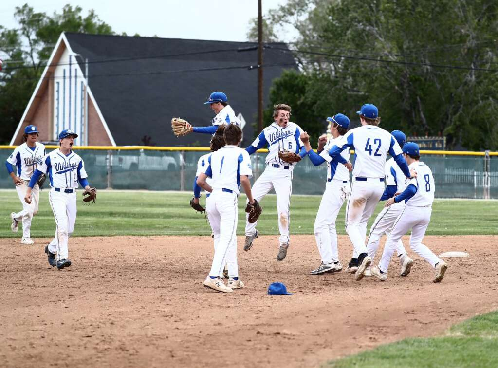 South Tahoe celebrates beating Truckee on Saturday in sparks.