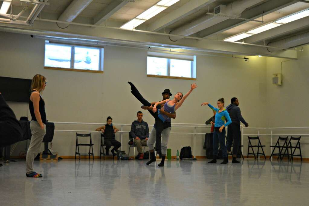 Aspen Santa Fe Ballet rehearsing in its studio in pre-pandemic times (Aspen Times file)