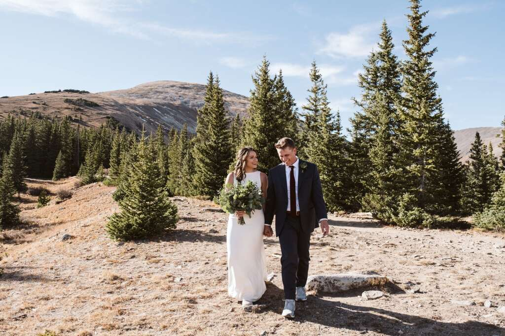Summit County offers couples the unique opportunity to elope in one of Colorado's most picturesque locations. | Nina Larsen Reed/Courtesy photo